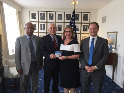 US Embassy Visit 1